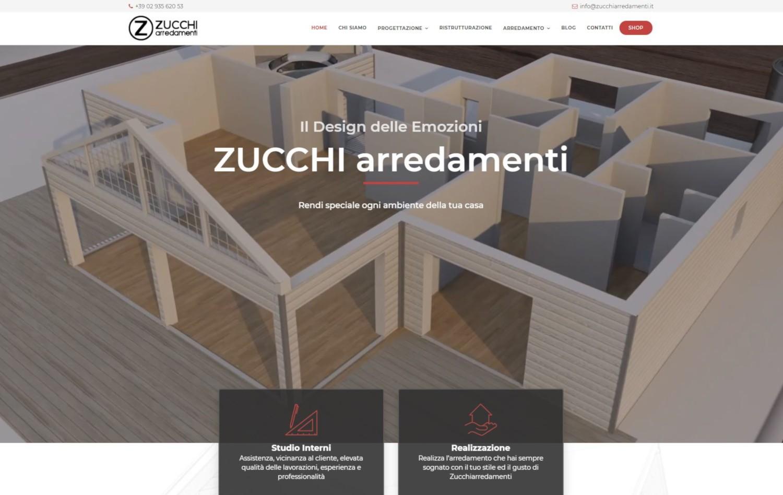 Il tuo sito web professionale su misura miweb for Zucchi arredamenti cornaredo